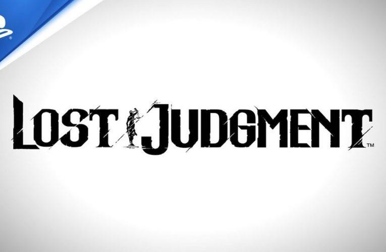 Lost Judgment – découvrez la bande-annonce du jeu.