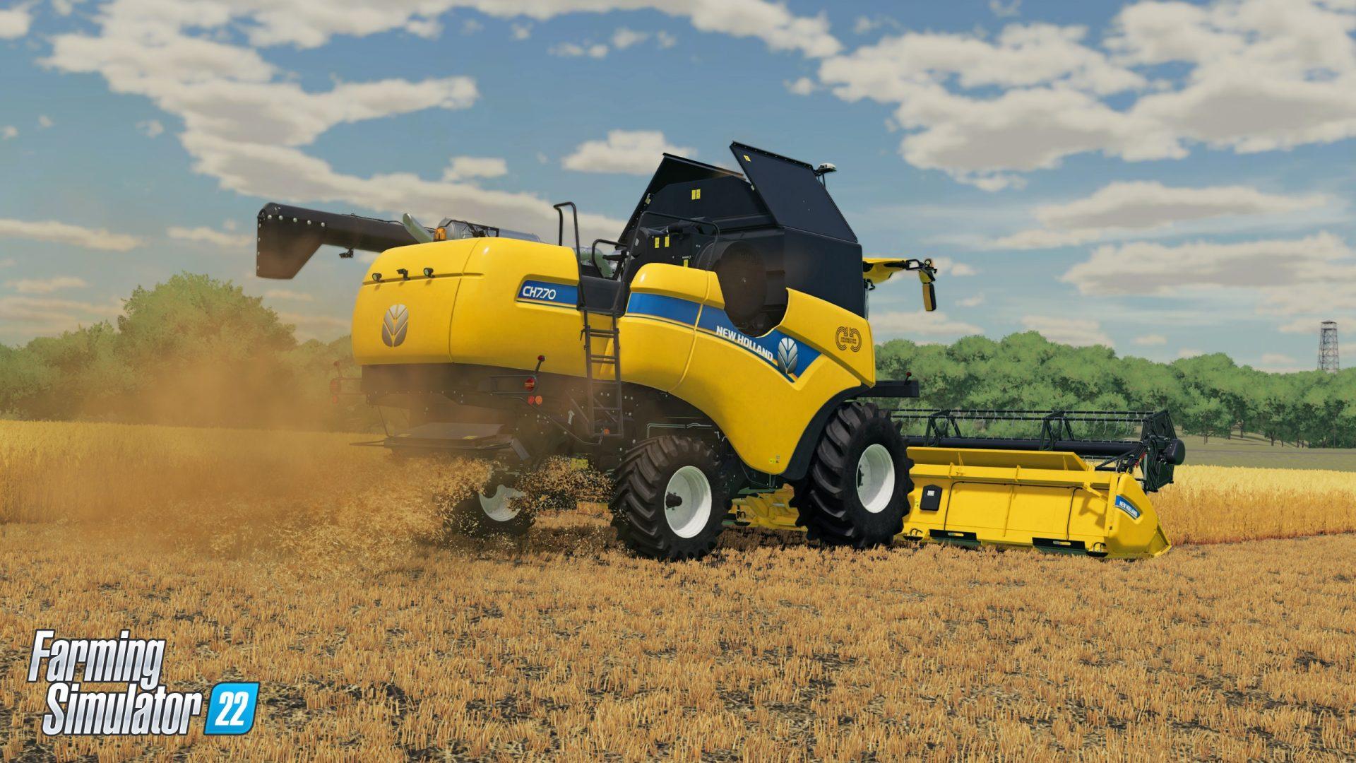 Farming Simulator 22 apporte des changements importants, et surtout des saisons - Gamebro.cz