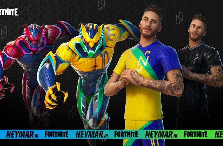 Fortnite – Neymar Jr est entré dans le jeu. La bande-annonce montre la peau du joueur