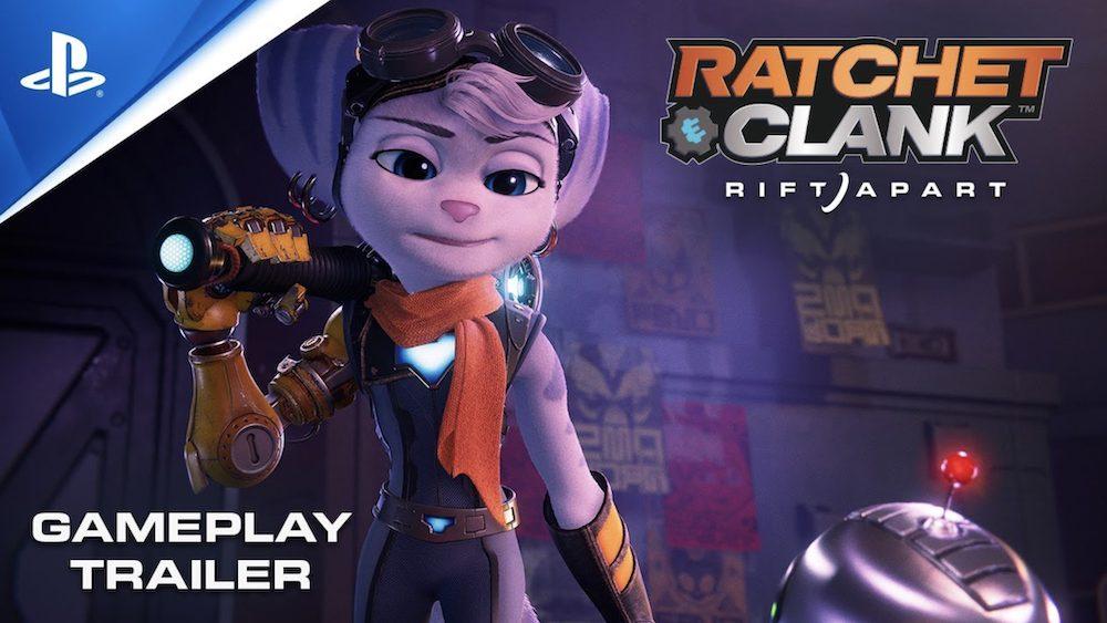 Ratchet & Clank : Rift Apart impressionne dans une nouvelle vidéo de gameplay !