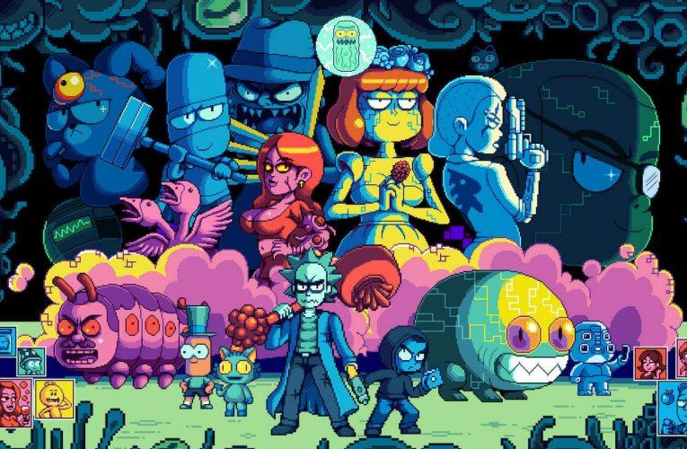 Rick et Morty in the Eternal Nightmare Machine – Promotion de la saison 5