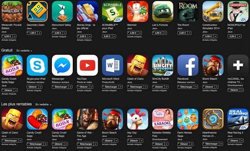 Jeux mobiles : Produit de second ordre ?