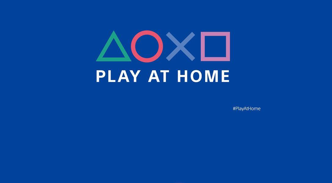 PlayStation : De nouveaux cadeaux avec Play at home ?