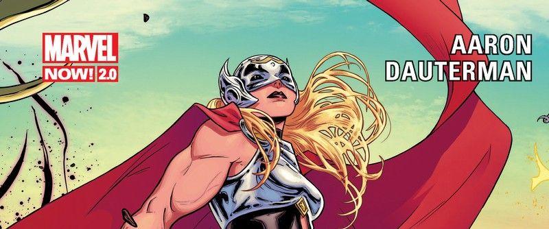 Image promotionnelle de Thor : Amour et Tonnerre. Voici à quoi ressemblera Natalie Portman dans le rôle du puissant Thor.