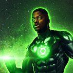 Le croquis conceptuel de Justice League, réalisé par Snyder, montre une rencontre entre Bruce Wayne et Green Lantern.