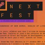 Steam Next Festival Le prochain festival a commencé