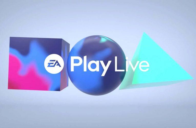 EA Play Live 2021 date et premiers détails du salon.