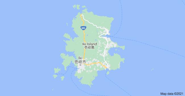 Fantôme d'Ikishima - image de l'île