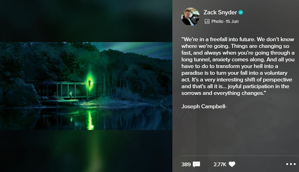 Croquis du concept de Justice League de Zack Snyder
