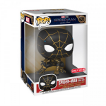 Images de jouets de Spider-Man : No Way Home. Costume noir et or et Spider-Man avec la magie