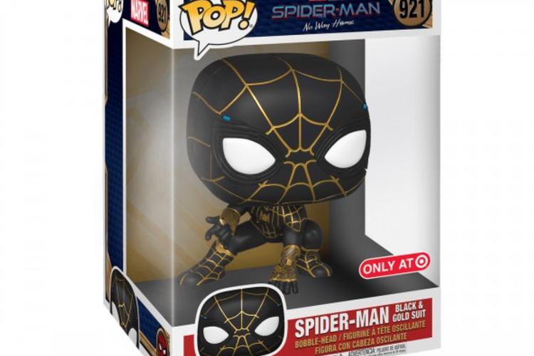 Spider-Man : No Way Home – les images de jouets avec Costume noir et or !