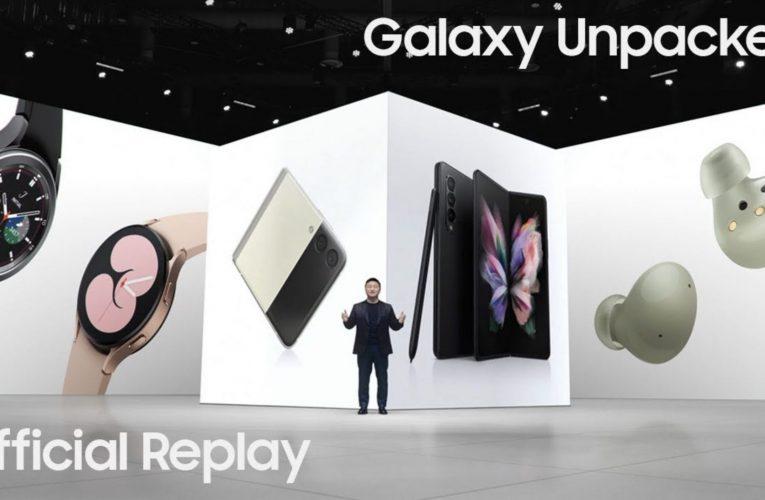 Samsung Galaxy Z Flip 3 et Galaxy Z Fold 3 sont arrivés les précommandes ont commencé !