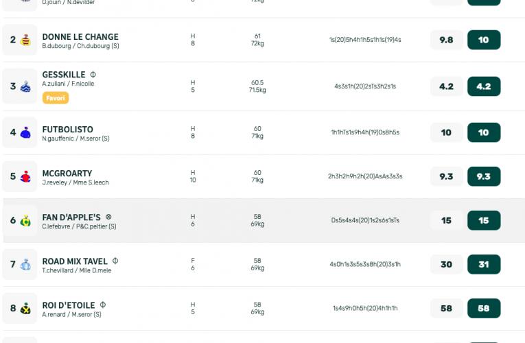 Pronostic Quinté + : Steeple-Chase du lundi 23 août 2021
