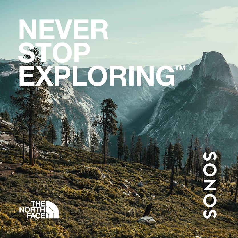 Sonos et The North Face nous invitent à une exploration audio des grands espaces cet été - itravelling.gr