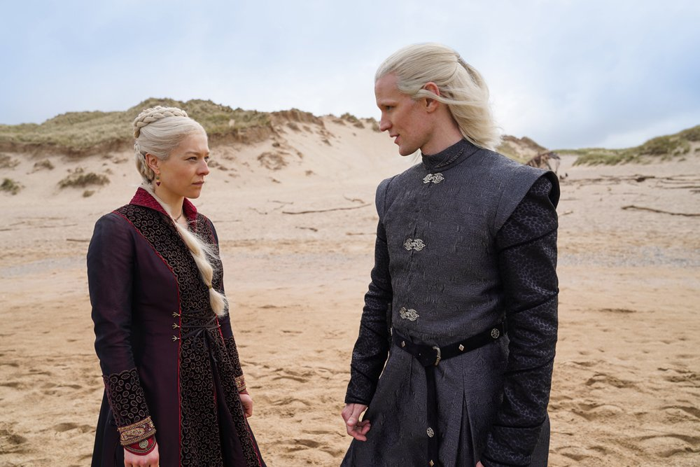 House of the Dragon - photos du tournage du spin-off de Game of Thrones. Graham McTavish en armure