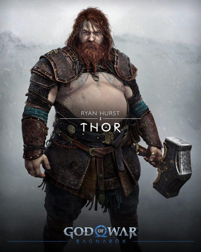 thor god of war ragnarok