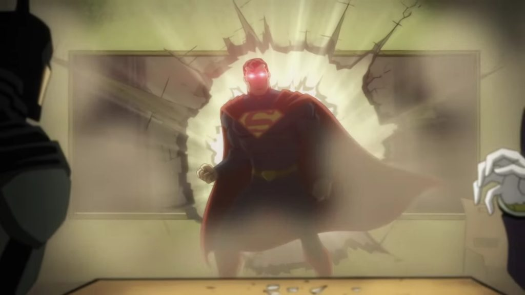 Injustice - bande-annonce d'animation brutale. Superman déclenche un massacre sanglant !