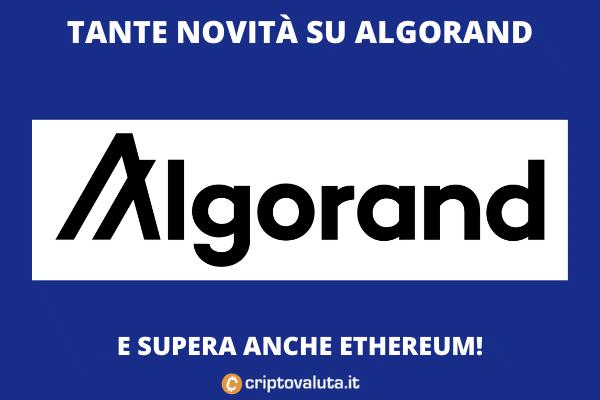 Algorand - boom à venir après le dépassement de l'ETH