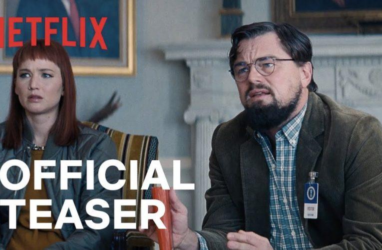 Don't Look Up bande annonce du nouveau film Netflix avec un casting de stars.