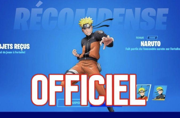 Skins Fortnite saison 8 voit l'arrivée de Naruto ! – E-sport