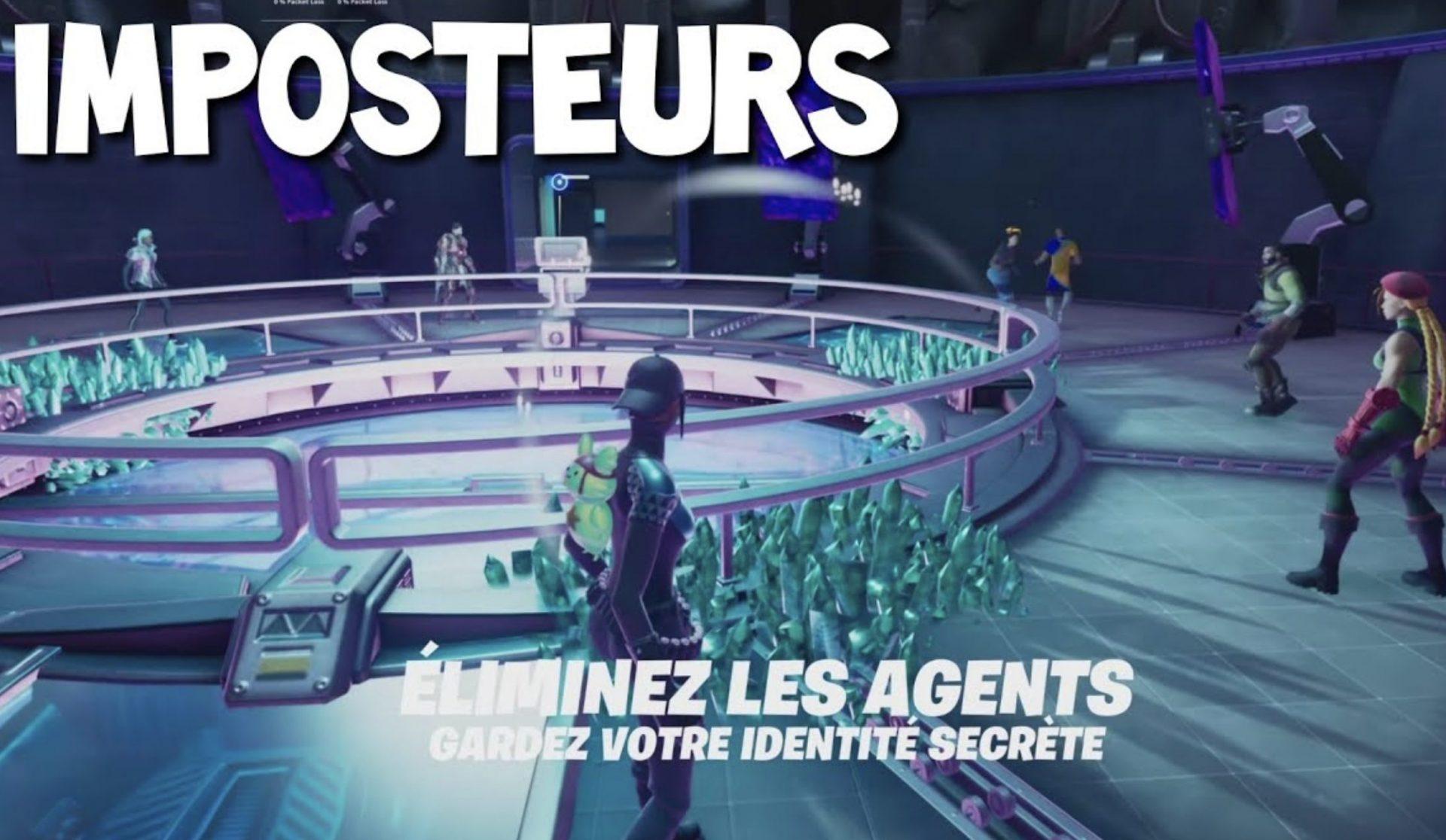 Fortnite, la nouvelle mise à jour introduit le mode Imposteurs !