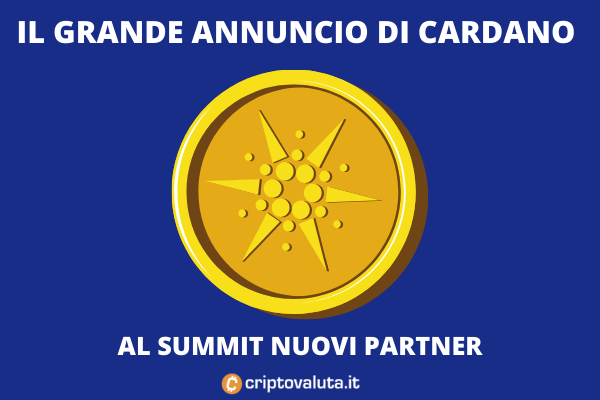 Cardano - annonces du sommet - l'analyse de cryptocurrency.co.uk