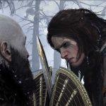 God of War Ragnarok avec un premier aperçu des personnages du jeu.