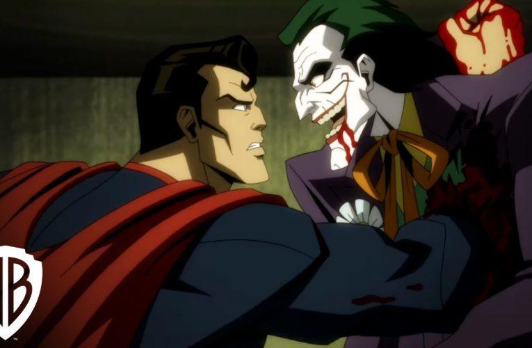 Injustice bande-annonce d'animation brutale. Superman déclenche un massacre sanglant !