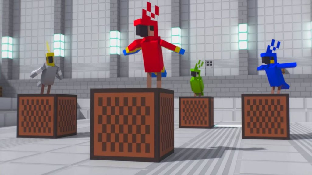 Minecraft Bedrock Edition 1.17.30 - aktualizacja - papugi tańczą - PG