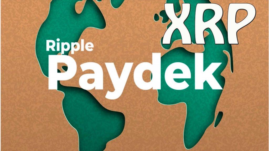 XRP ripple Paydek
