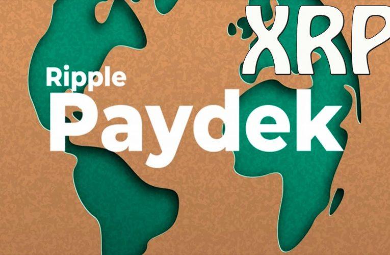 XRP : Ripple Accord entre Ripple et Paydek !