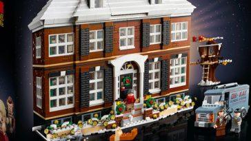 Kevin seul à la maison - le manoir McCallister en LEGO