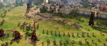 Age of Empires IV : Bataille entre Rus et le Sultanat de Delhi montré