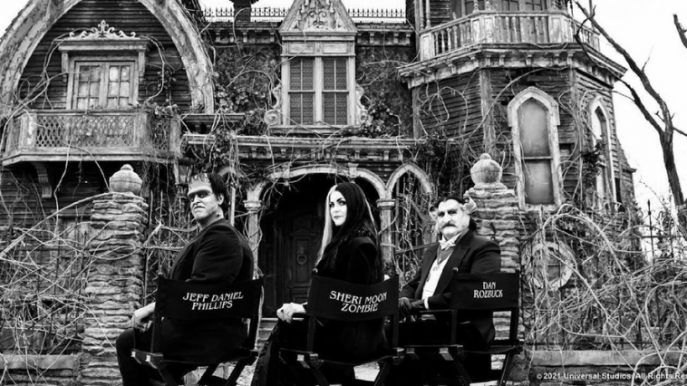 La famille Potwornicki - premier regard sur le remake. Comme une version live de Hotel Transylvania.