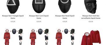 Où trouver les combinaisons et les accessoires de Squid Game ?