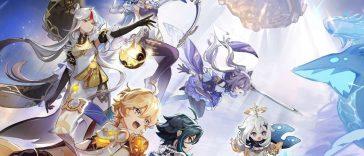 Genshin Impact : fuite des personnages de la bannière pour les prochaines versions, rumeurs