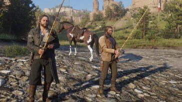 Red Dead Redemption 2 avec un excellent mod ajoutant des compagnons
